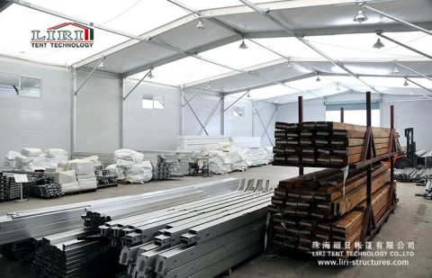 industrial workshop tent
