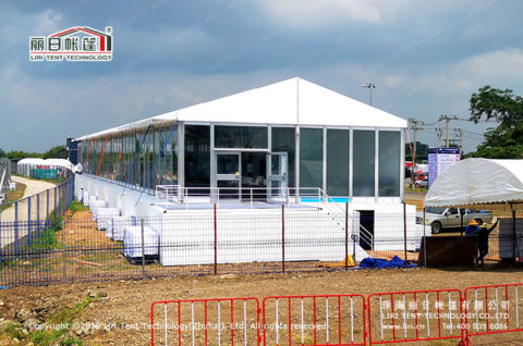10m x 40m Gala Marquee Tent