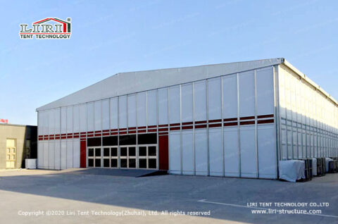 2 story clear span tent