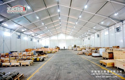 25m Warehouse Tent