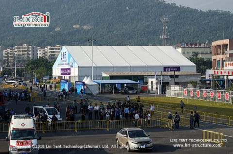 25x40m tent hall