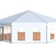 8 Sided Polygon Tent 3d