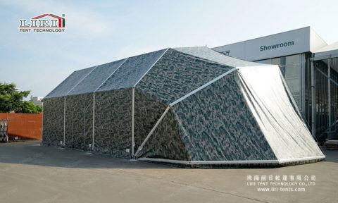 Airplane Hangar Tents