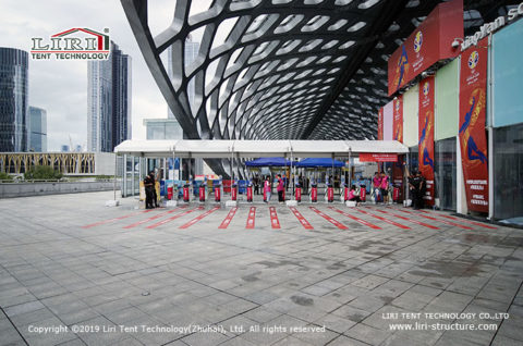 Covered Walkway tent