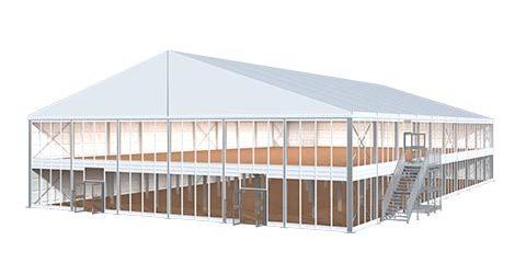Double Decker Tent 3d
