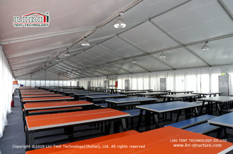 Event Canopy Tent with Glass Wall