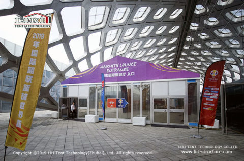 Gala Tent with Glass Wall