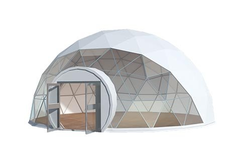 Geodesic Dome Tent 3d