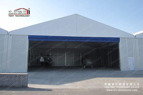 Helicopter Hangar Tent
