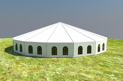 Hexadecagon Tent