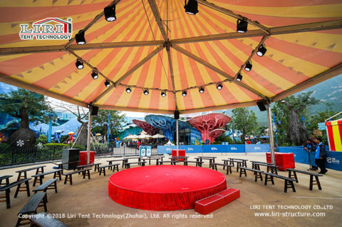 Hexagon Tent for event