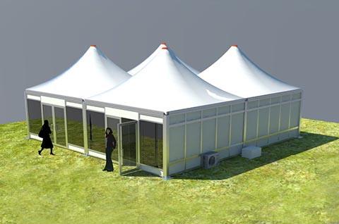 Modular Pagoda Tent