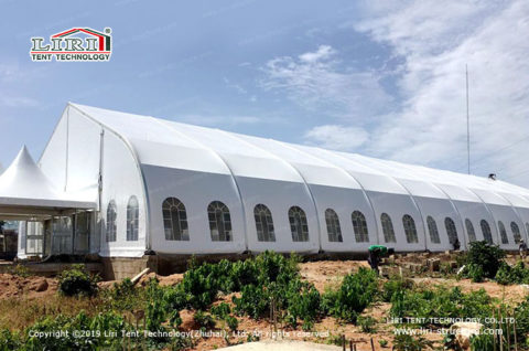 Outdoor Aluminum Curved Roof TFS Tent