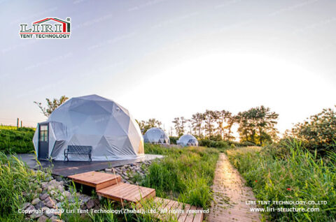 Outdoor Geodesic Dome Tent