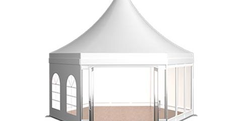 Polygon High Peak Tent 3d