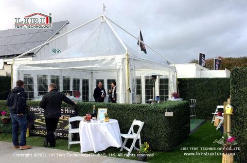 Pvc Fabric Aluminum Gazebo Tent