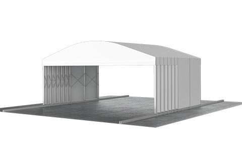 Roll up Catering Tent 3d