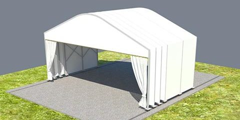 Roll up Catering Tent