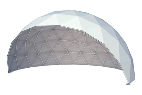Semi-open Geodesic Dome Tent