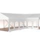 Small Walkway Corner Tent 3d