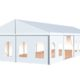 Small Wedding Tent 3d