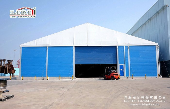 Outdoor Warehouse Tent & Industrial Storage Tents | Workshop Tent - Liri Tent Structure