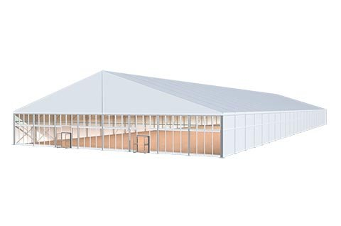 Tent Hall 3d