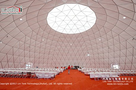 Transparent Geodesic Dome Tent for Sale