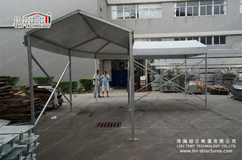 Walkway Corner Tent for Exhibition