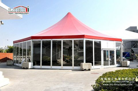 decagonal tents liri