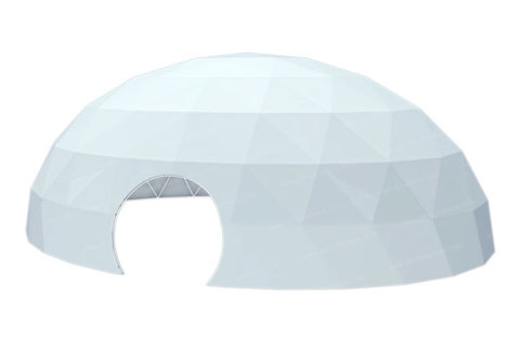 ellipsoidal tent