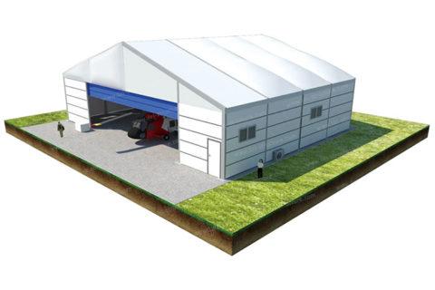 Flexibile Shutter Door Opening Hanger Tents