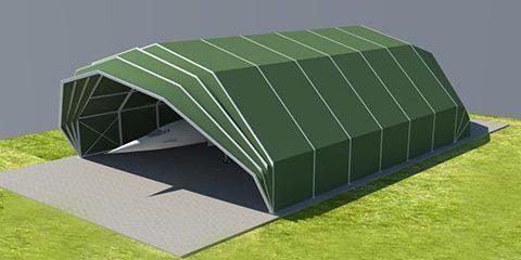 hangar tent d