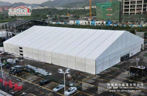 huge tent hall