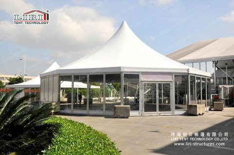 liri decagonal tent
