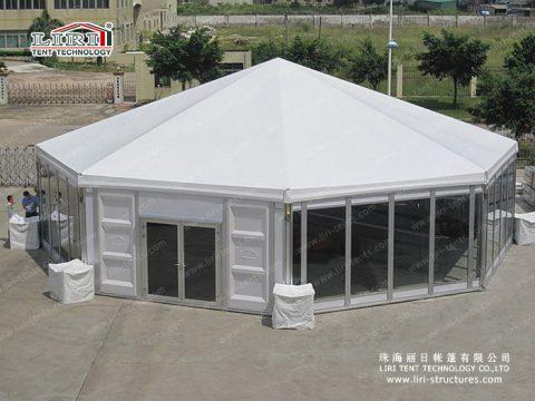 liri octagonal tent