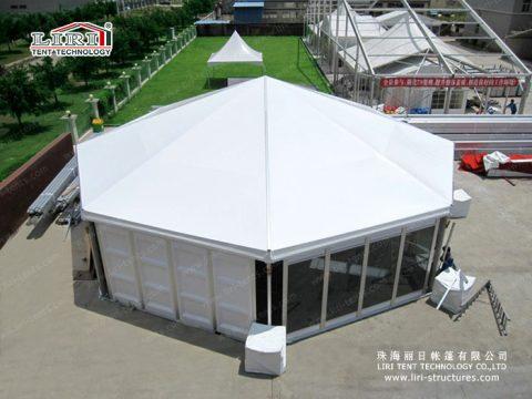 liri octagonal tents
