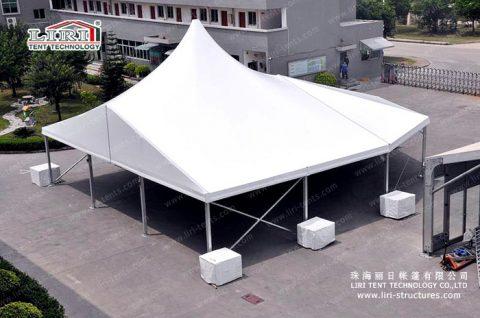 mixed high peak tents