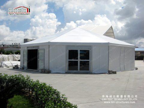 octagonal tent in liri