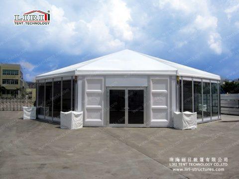 octagonal tents