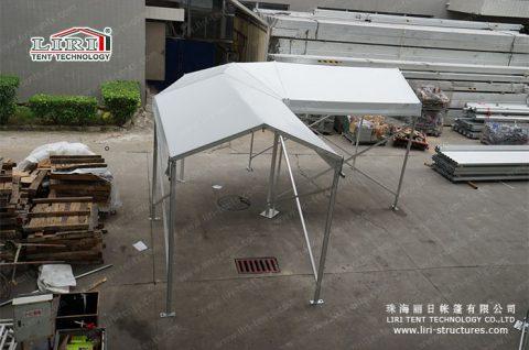 outdoor Walkway Corner Tent