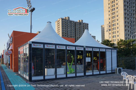 small modular tent