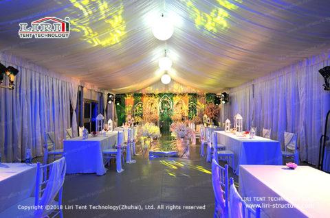 small tent wedding decorations