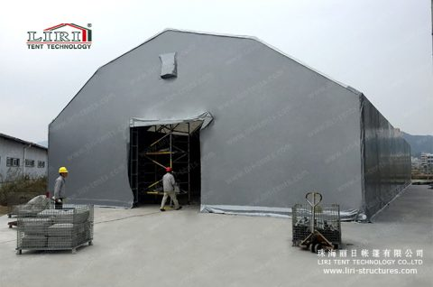 steel structure warehouse tent