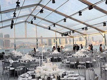 10x20 Dior Clear Party Tent