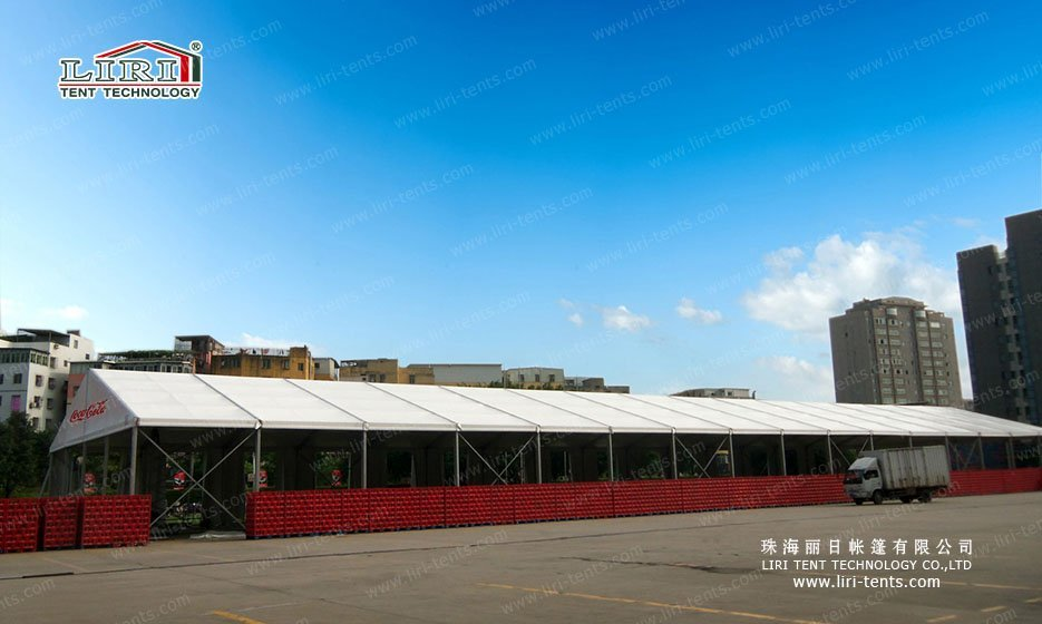 Temporary Storage Tent & Coca-Cola Temporary Warehouse Tent - Liri Tent Structure
