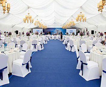 20 x 40 Luxury Wedding Tent in Nigeria