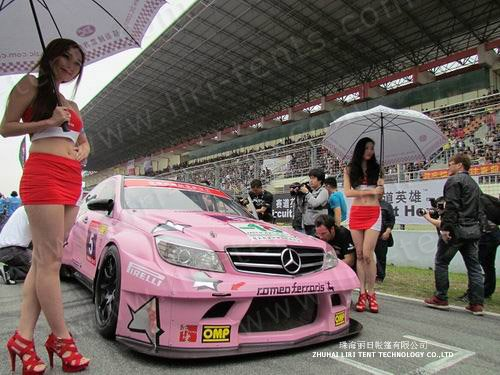 Exclusive Event Tent Supplier of 2013 Super Motor Race of Zhujiang Delta
