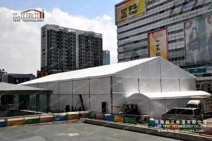 fashion show marquee tent