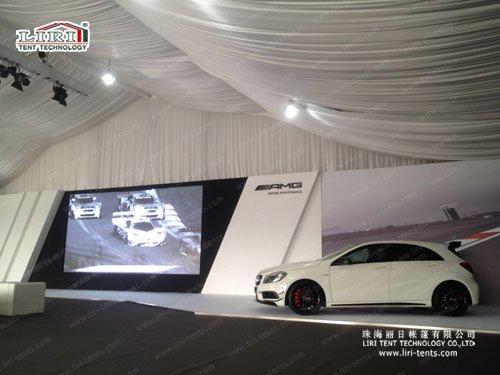 Liri exhibition includes Pagoda tent